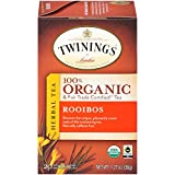 Twinings 川宁伦敦及公平贸易认证的 Rooibos 草本茶包,20 包(6 盒装)