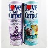 Love My Carpet 地毯和房间*剂 - 2 件装 - 薰衣草梦想和帕特里 我的宠物