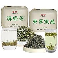 安够 云南生态大叶种绿茶精选 500克 (明前头拨早春绿茶)
