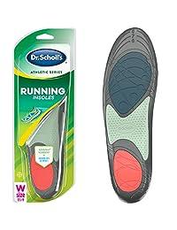 Dr. Scholl's 女士运动系列跑步鞋垫,1 双,尺码 5.5-9 女式 Size 5.5-9 1