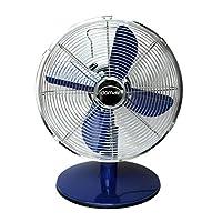 domair tm30blanc 桌面电风扇, 复古金属 蓝色
