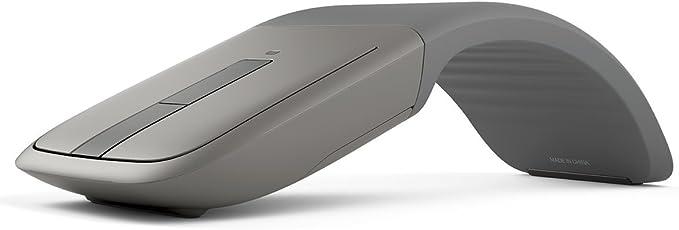 Microsoft 微软Arc Touch蓝牙鼠标 用于PC,Microsoft Surface和Windows平板电脑 灰色
