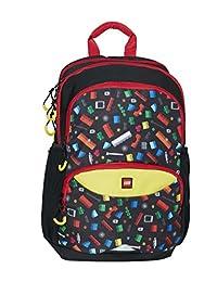 Lego Playroom Originals 高级学校背包,41 厘米,21 升,多色(多色)