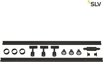 SLV 1阶段高压 轨道灯套装 黑色 143190
