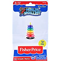 Worlds Smallest Fisher Price Classic Rock-a-Stack Collectable