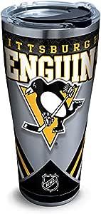 Tervis 1281285 NHL 匹兹堡企鹅冰 不锈钢杯 带盖 银色 30 oz Stainless Steel 1280935