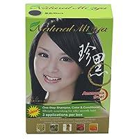 自然 MI YA 草本 colorants , henna ,人参 extracts , open-up cuticles 适用于各种颜色 absorption ,简单,永久,无 ammonia