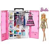 Barbie Fashionistas 终极衣柜玩偶和配饰,多色