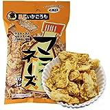MARUESU马鲁斯 酥脆炸鱿鱼(蛋黄酱味)25g*4(日本进口)