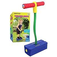 Click n' Play 泡沫 Pogo 跳线 - 用闪光 LED 灯发出吱吱声