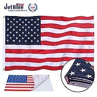 Jetlifee 美国国旗美国退伍军人所有Biz。 2.5 by 4 Foot