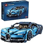 LEGO 乐高 Technic 机械组系列 42083 Bugatti Chiron 布加迪威龙 拼装车模