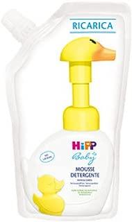 HiPP 婴儿摩丝手和身体清洁剂补充装 250 毫升