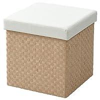 山善(YAMAZEN)凳子 米色 38×38×38.5cm