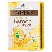 Twinings川宁果味茶包 柠檬甘姜((1.5g*20)30g (英国进口)