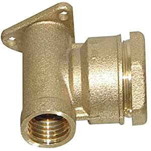 黄铜支架适配器15x21 管 20 压缩