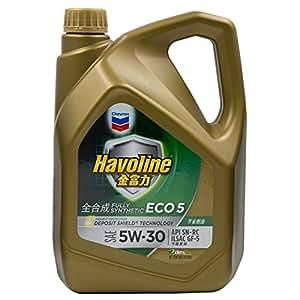 Chevron 雪佛龙 金富力全合成机油 ECO 5 [SAE SN] 5W-30 4L