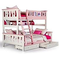 aok 多喜爱 儿童床 松木双层床双人上下铺床成人实木高低子母床 (1.2 * 2.0m,只有高低床)