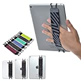 TFY *手绑带兼容平板电脑、Apple iPad Air(iPad Air 2)、iPad Mini - iPad Pro 9.7 英寸 - 三星 Galaxy Tab & Note - Google Nexus - 等 - 灰色/黑色
