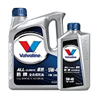 Valvoline 胜牌 星胜 All-Climate 全合成机油 汽车润滑油 SN级 (5W-40 4L+1L)