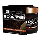 Terra Fyllida Mushroom Spoon Sweet with Almonds and Vanilla Flavour, 270 g