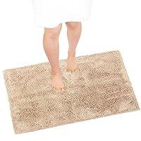 OKA 干燥度良好 D自然 浴室垫 米色 約60×90cm -
