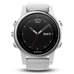 GARMIN佳明fenix5S普通镜面国行中文版白色多功能光电心率GPS手表运动户外登山骑行游泳跑步智能腕表