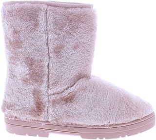 26 Accessories 女式人造毛皮冬季平底及踝靴