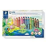Staedtler 六角伙伴-彩色铅笔纸板盒 12 个铅笔刀