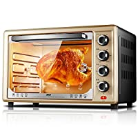 ACA 北美电器 ATO-BCRF32 32L高配 家用烘焙电烤箱 (立体热风循环+上下火独立控温+旋转烤叉+低温发酵+炉灯)