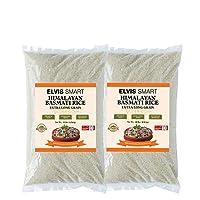 Elvissmart 正品白麦芽米,10磅/每包(2包)