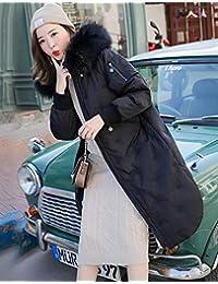 羽绒服女冬季新款貉子大毛领长款加厚加大款女外套羽绒衣