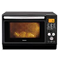 IRIS OHYAMA 愛麗思歐雅瑪 過熱水蒸汽 蒸汽烤箱微波爐 24L 白色/黑色 有蒸汽杯/無 單品/套裝 1) カップ式スチーム(ブラック) MO-FS2403