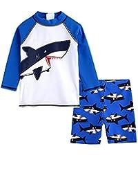 LOSORN ZPY 男婴泳装儿童*服泳装,带泳帽