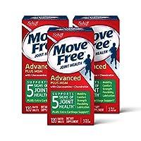 Move Free  益節葡萄糖胺和軟骨素+ msm關節維生素片,move free(1瓶120粒),3瓶,360粒