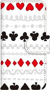 白色坚果 手机壳 翻盖 印花翻盖 智能手机壳 翻盖式 对应全部机型WN-PR051253-ML AQUOS SERIE SHV32 白色