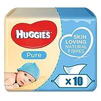 HUGGIES 纯湿纸巾样本 560 Tücher 56