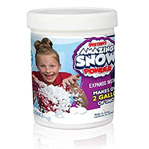 神奇玩具,Insta-人造雪罐装玩具,可制造2加仑(约7.6升)