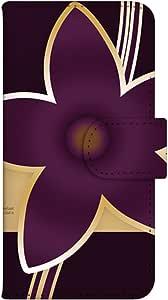 智能手机壳 手册式 对应全部机型 印刷手册 wn-505top 套 手册 和式图案 UV印刷 壳WN-PR117936-MX Disney Mobile on docomo DM-01G 图案D