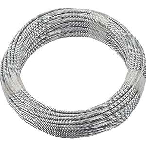快速适配电线绳不锈钢 V4 A,直径 3 毫米长 20 米;7 x 17.78,190391