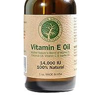 维他命 E 油 * 天然 14,000 IU(d-alpha tocopherol)包括荷巴油、维生素 C 和椰子油。 是您的维生素 C 精华的完美补充。