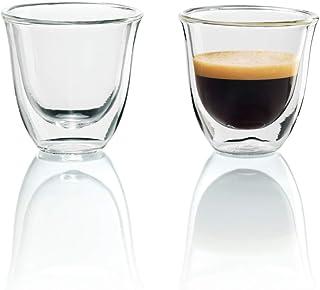 DeLonghi 德龙双层保温咖啡玻璃杯,两只装
