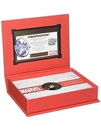 Marvel Agents of S.H.I.E.L.D.标准纯银女式戒指 216 months to 1200 months 7 925 纯银镀铑和 18kt 金