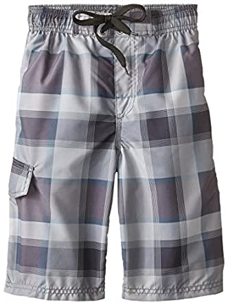 Kanu Surf Big Boys' La Jolla Swim Trunks 灰色 X-Large / 18-20