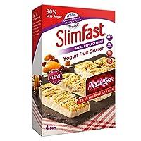 Slimfast 代餐棒 4根装 酸奶水果味240g(英国品牌)