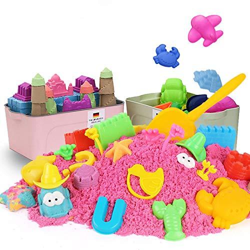 遊ぶ子供用スペースおもちゃ砂のセットマジックサンドセーフ非毒性カラーマッドボーイズとガールズ超軽量粘土粘土(砂の砂、5キロの標準)