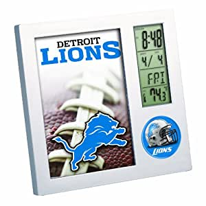 NFL Detroit Lions Desk Clock