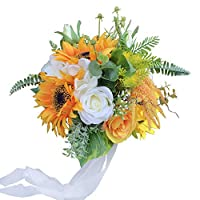 DALAMODA 新娘花束 - A 向日葵
