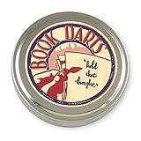 Book Darts 125 只装锡黄铜书签 - 行书签