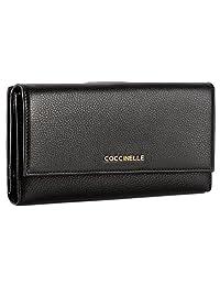 Coccinelle 金属色牛皮压纹 女式 时尚钱包 BW1 11 85 01